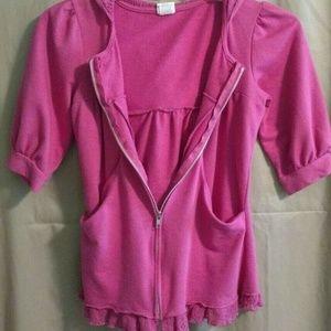 Blu Chic Pink sweatshirt